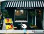 Chevalet de trottoir + affiches