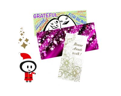 Cartes de vœux, format cartes de correspondance