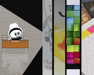 Cartes de correspondance - Papier création