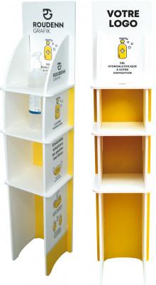 Bornes pour gel hydroalcoolique